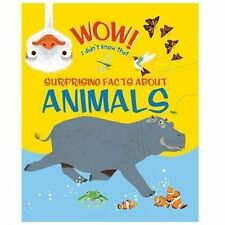 Wow! Surprising Facts About Animals (Wow! Books)-ExLibrary