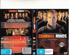 Criminal Minds-2005/15-TV Series USA-The First Season-[6 Disc Set]-DVD