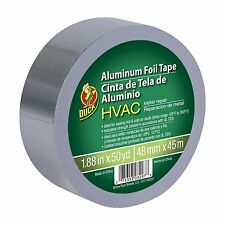 HVAC UL 723 Metal Repair Aluminum Foil Tape, 1.88-Inch by 50 Yards, Silver