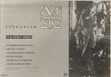 20/5/89Pgn18 Advert: All About Eve 'evergreen' The Debut Video Out Now 7x11