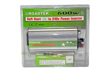 CAR TRUCK POWER INVERTER 12V TO 230V ROADTEK 600W