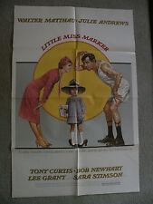 Little Miss Marker Walter Matthau, Julie Andrews, Tony Curtis, Bob Newhart 1980