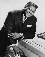 American Blues Artist ANTOINE FATS DOMINO Glossy 8x10 Photo Music Print Portrait