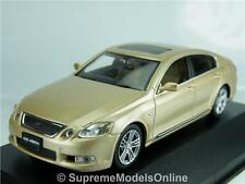 LEXUS GS450H 2006 MODEL CAR 1/43RD SCALE PREMIUM BEIGE COLOUR EXAMPLE T3412Z(=)