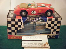 "Scalextric no: C93 ""austin healey (race tuned)"" - rouge (boxed)"