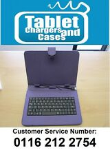 "Purple USB Keyboard Carry Case/Stand for CnM 9 inch Touchpad 9"" Versus Tablet"