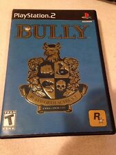 Bully (Sony PlayStation 2 2006) Complete in Case w/ Poster/Map Black Label PS2