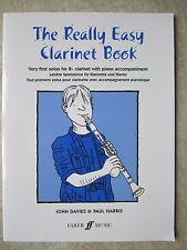 Really Easy Clarinet Book with Piano Accompaniment *NEW*