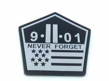 9-11 Never Forget PVC Patch