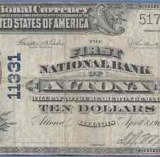 IL  1902 $10  ♚♚ ALTONA, ILLINOIS ♚♚    HARD TO FIND