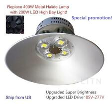 200W LED High Bay Light Bright White Lighting Fixture Warehouse Factory Industry