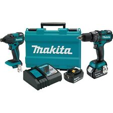 Makita 18V LXT Lithium-Ion Cordless 2 Piece Driver Drill/Impact Driver Combo Kit