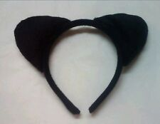 1Pcs Black Cat Ears Headband Animal Fancy Dress Costume Accessory Halloween