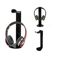 Acrylic Headphone Stand Holder Earphone Hanger Headset Desk Display Rack Bracket