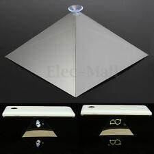 3D Holographic Display Pyramid Stand Projector With Chuck For 3.5''-6.5'' Phones