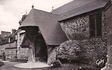LAMBALLE 16 le porche de l'église saint-martin ancien prieuré avec choeur horiz.
