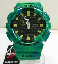 New Casio G-Shock G-Lide Tide Graph Moon Data World Time Watch GAX-100MB-3A