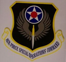 Window Bumper Sticker Military Air Force Special Operations Command NEW Decal