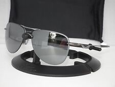 NEW OAKLEY TAILPIN AVIATOR SUNGLASSES OO4086-01 LEAD / BLACK IRIDIUM
