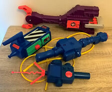 Vintage Kenner The Real Ghostbusters Trap Grabber Proton Gun Parts PKE Meter lot
