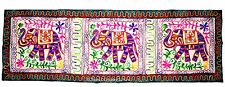 60'' Wall Hanging Kutch Embroidered Tapestry Table Runner Throw INDIAN Decor