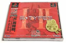 R-TYPES R-Type I & II Playstation Import JAPAN Game Brand NEW Factory Sealed