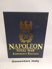 NAPOLEON TOTAL WAR EMPEROR'S EDITION - PC - NUOVO SIGILLATO NEW ULTRA RARE