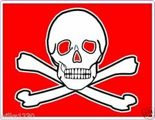 r2x Pirate, skull and crossbones, jolly roger decals self adhesive vinyl sticker