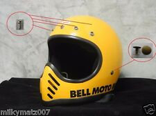 Bell moto 3 moto3 moto III Rivet snap button sets vintage helmet full 8 sets