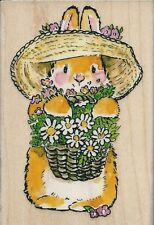 """""""Bunny Bouquet"""" Rubber Stamp by Penny Black"""