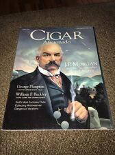 Cigar Aficionado Magazine April 2000 J.P. Morgan George Plimpton William F Buckl