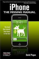 iPhone  The Missing Manual by David Pogue (2007, Paperback)