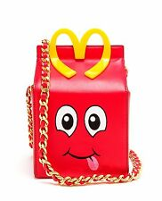MOSCHINO MCDONALDS Happy Meal Jeremy Scott x FALL 14 Bag Borsa SOLDOUT