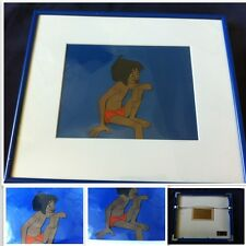 1967 JUNGLE BOOK ORIGINAL PRODUCTION CEL MOWGLI DISNEY ART CORNER CELL CELLULO