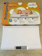 Bilancia Digitale Pesa Neonati Baby Nuvita 1300 Primi Pesi Primipesi