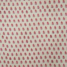 Cotton Voile Indian Fabric Indian Crafting Hand Block Print Material By 1 Yard