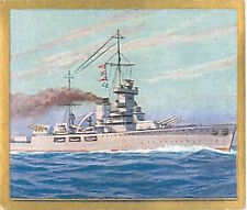N°277 World War France Cruiser Dunkerque Reichsmarine Germany WWI 30s CHROMO