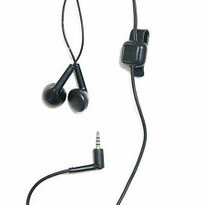 Black Headphones Handsfree Headset earphone for Nokia with Mic Built-in Mic NEW