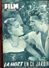 LE FILM COMPLET N°605. SIMONE SIGNORET: LA MORT EN CE JARDIN. 1957.