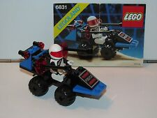 LEGO SPACE No 6831 SPACE POLICE MESSAGE DECODER 100% COMPLETE + INSTRUCTIONS