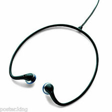 Black Lightweight 3.5mm Sport Earbuds Neckband Earphone Headphone for Apple iPod