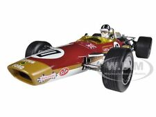 LOTUS 49 F1 #10 GRAHAM HILL 1968 SPANISH GRAND PRIX WINNER 1/18 BY QUARTZO 18214