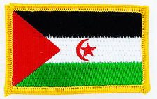 WESTERN SAHARA FLAG PATCH PATCHES BADGE IRON ON NEW EMBROIDERED