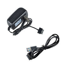 USB Sync Cable + AC Wall Charger Adapter for Asus EeePad Transform TF300 TF300T