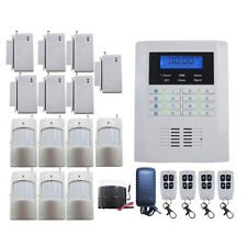 Quad 4-Bands 101 Zones Wireless GSM PSTN Home Security Alarm Burglar System US