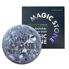 April Skin Magic Stone Face Whitening Skin Care 100% Natural Cleansing Soap 100g