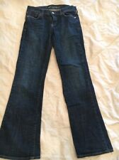 Old Navy Sweetheart Jeans Classic Rise Stretch Flare Dark Wash Sz 4