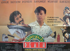 Kevin Kline  River Phoenix I LOVE YOU TO DEATH(1990)Original movie poster