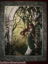 Nene Thomas Fairy Direwood Limited Edition Print MATTED Faery Signed Retired