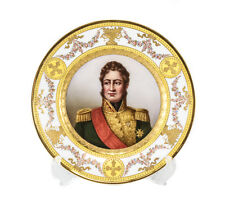 Royal Vienna Hand Painted Cabinet Plate Louis Philippe, King of France, c.1900